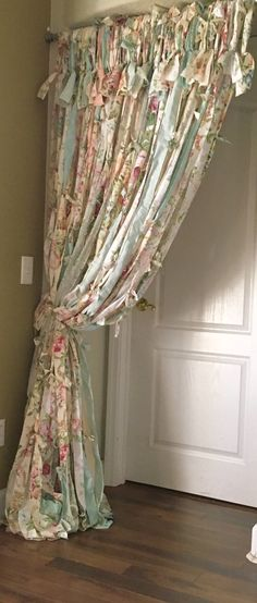Tattered Shabby Chic Curtains