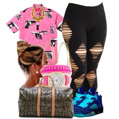 """""""I'm ready to eat but my gma and mama is still cooking :-( 11 28 2k13"""" by thebaddestbaddie on Polyvore cheap Air Jordan 5 Doernbecher only $55, save up to 68% off for all #Nikes #Shoes"""