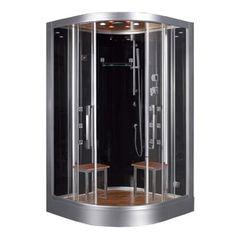 Ariel Platinum DZ962F8-BLCK Steam Shower | Overstock.com Shopping - The Best Deals on Steam Rooms