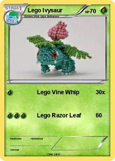 Pokemon Lego Ivysaur