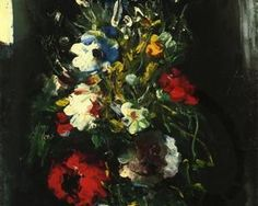 Vase of Flowers, by Maurice de Vlaminck (French, 1876-1958),