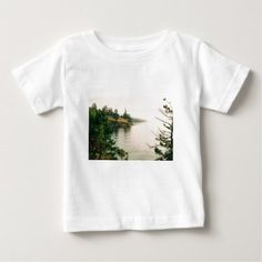 Salt Spring Island Oceanfront View Baby T-Shirt - tap, personalize, buy right now! Old Garden Gates, Outdoor Gifts, Stylish Baby, Baby Shirts, T Shirts For Women, Mens Tops, Salt, Island, Shopping