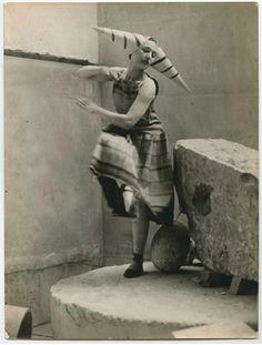 Constantin Brancusi, Costume for Erik Satie's Trois Gymnopédies, 1922