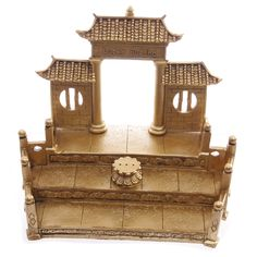 Chinese Temple Tiered Display Stand Buddha figures and figurines have many different meanings in many cultures and with our selection of collectable
