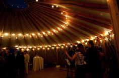 Yurt lights