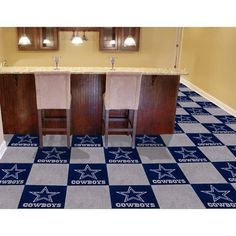 Dallas Cowboys NFL Team Logo Carpet Tiles