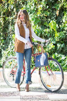 mi aventura con la moda blogger bag jeans shirt jacket shoes
