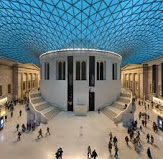 The British Museum is dedicated to human history, art and culture, and is located in the Bloomsbury area of London