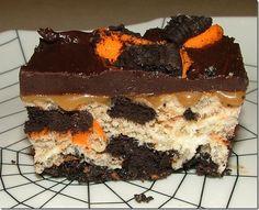 Baking And Boys!: Halloween Oreo Caramel Rice Krispies Treats