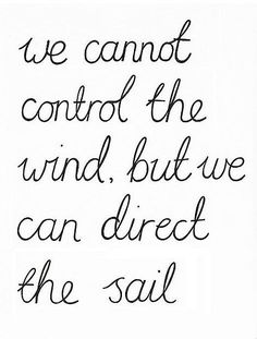 Not necessarily fitness-specific but so true. If something derails you, it doesn't mean you give up and just let the wind take you. You push through that damn wind and get to where you're going.