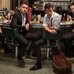 Arctic Monkeys - Band Interview Photos - Men Of The Year 2013 Alex Turner, Andy Murray Wins Wimbledon, Monkey Memes, Weekend Film, Josh Homme, Monkeys Band, Monkey 3, The Last Shadow Puppets, Best Rock Bands