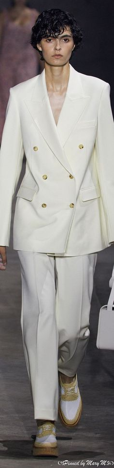 Double Breasted Suit, Suit Jacket, Gabriela Hearst, Suits, Jackets, Mood, Fashion, Down Jackets, Moda
