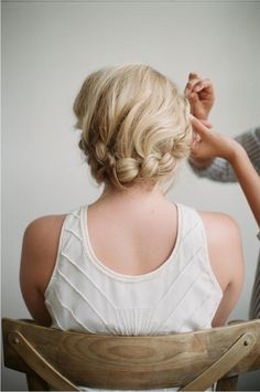 Irrelephant: HOW TO: HALO BRAID TUTORIAL WITH FROU FROU RIBBON