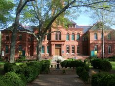 The Madison-Morgan Cultural Center located in my hometown, Madison, GA.  The first graded schoolhouse in the Southeast