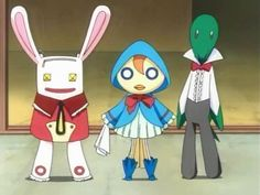 Kurōdo, Ririn and Noba