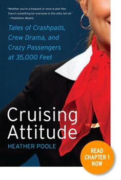 Real-life flight attendant Heather Poole has written a charming and funny insider's account of life and work in the not-always-friendly skies.      • Signed bookplated paperback edition of Cruising Attitude by Heather Poole.   • Cruising Attitude-branded bookmark with exclusive travel tips.  • Free shipping. Offer available in the US only. Please allow two weeks for delivery.