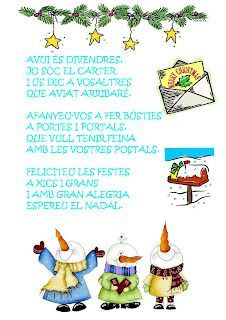 poema de nadal infantil - Cerca amb Google