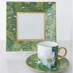 Tecnica Moderna Cold Porcelain, Porcelain Ceramics, Ceramic Mugs, China Painting, China Patterns, Color Blending, Cup And Saucer Set, Vintage China, Tea Pots