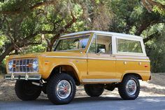 Ford Bronco early SUV Bronco #CovertFord http://covertford.com/