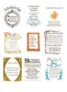 Replica pages from the Charmed one's Book of Shadows .  Make a journal in under 60 minutes by creating with printer, computer program, and printer paper. Inspired by tv shows and religious & spiritual. Creation posted by Creativemind. Difficulty: Easy. Cost: Cheap.