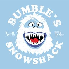 Bumble's Snowshack by Superior Graphix Inc. The Abominable Snow Monster of the North (a.k.a. The Bumble) #AbominableSnowMonster #Bumble #Rudolph #Christmas #TV #Holiday