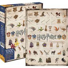 Homewares - Harry Potter - Icons 1000pc Puzzle