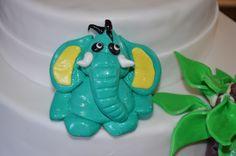 Figurine éléphant en fondant