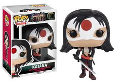Funko releasing Katana pop figure from Suicide Squad