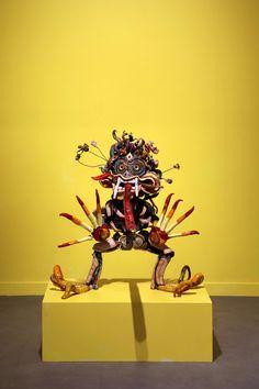 Alicja Łukasiak, ceramic, 2016 Lion Sculpture, Table Lamp, Statue, Ceramics, Home Decor, Art, Ceramica, Art Background, Table Lamps