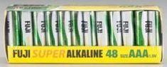 FUJI 4400SP48 AAA Alkaline Battery (48). #FUJI #Alkaline #Battery