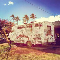 Giovanni's Famous Shrimp Truck in Hawaii #famous #foodtruck #food #hawaii #vacation #heaven #shrimp #hotnspicy #garlic