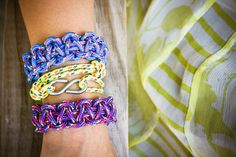 all sorts of rope bracelets