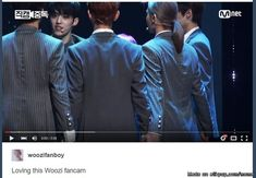Woozi fancam.. that purple hair<-- Haha i'm laughing so hard right now didn't get it at first sight