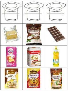 La classe de Laurène: étiquettes recette