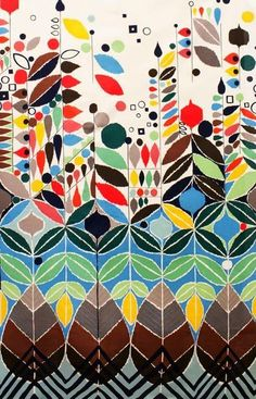 Stockholm by Alexander Henry's Mecca for Moderns collection via print & pattern::