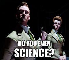 BioShock Infinite's Robert and Rosalind Lutece. I heart them.