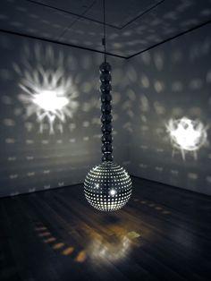 slowartday: Light installations by Otto Piene