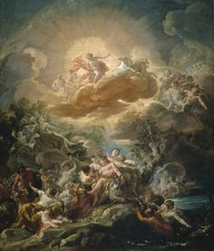 """""""El nacimiento del Sol y el triunfo de Baco"""" Corrado Giaquinto, hacia 1761"""