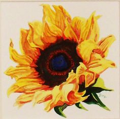 Coffee and a Sunflower - a great way to start each day! http://www.etsy.com/shop/TheElegantBloom?ref=si_shop