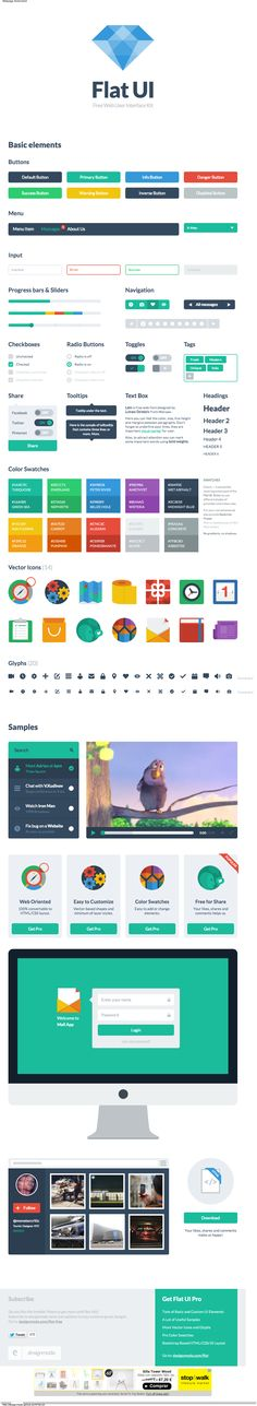 Flat UI. Free Web User Interface Kit