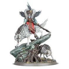 Warhammer Aos, Warhammer Fantasy, Warhammer Paint, Warhammer Models, Dire Wolf, Warrior Queen, Effigy, Scion, In Ancient Times