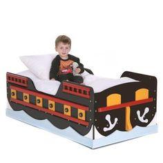 Pirate Ship Toddler Bed
