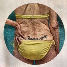omg! this is awesome... for all you people with lower back tattoos! bahahaha....time will NOT be good you! lol