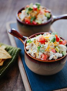White Turkey Chili - perfect for Thanksgiving leftovers   30 minute dinner by @Allison j.d.m j.d.m Davis / Some the Wiser