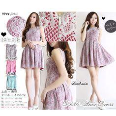 Jual baju korea bahan brokat murah berkualitas model terbaru 2015  Untuk order, SMS ke 085702449955  Jual baju online korea style bahan brokat murah bagus berkualitas  #jualbaju #bajuonline #bajukorea #bajumurah #jualdress #sayajualdress #sayajualbaju #bajufashion #koreandress #bajufesyen Brokat, Fashion Company, Skater Skirt, Lace Dress, Korea, Summer Dresses, Purple, Mini, Skirts