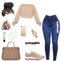 Best Picture For pink swag outfits For Your Taste You are looking for something, and it is going to Teenager Outfits, Swag Outfits For Girls, Boujee Outfits, Neue Outfits, Cute Swag Outfits, Teenage Girl Outfits, Cute Comfy Outfits, Cute Outfits For School, Teen Fashion Outfits