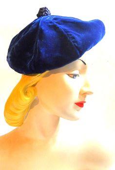 30s hat vintage hat