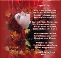O pranto secou - Com Marsoartes - Obrigada, minha flor!! - Encontro de Poetas e Amigos