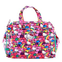 Jujube Be Prepared Diaper Bag - For Hello Kitty - Lucky Stars