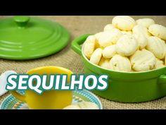 Receita de Sequilhos tradicionais e mais 4 sabores - Receita Fácil